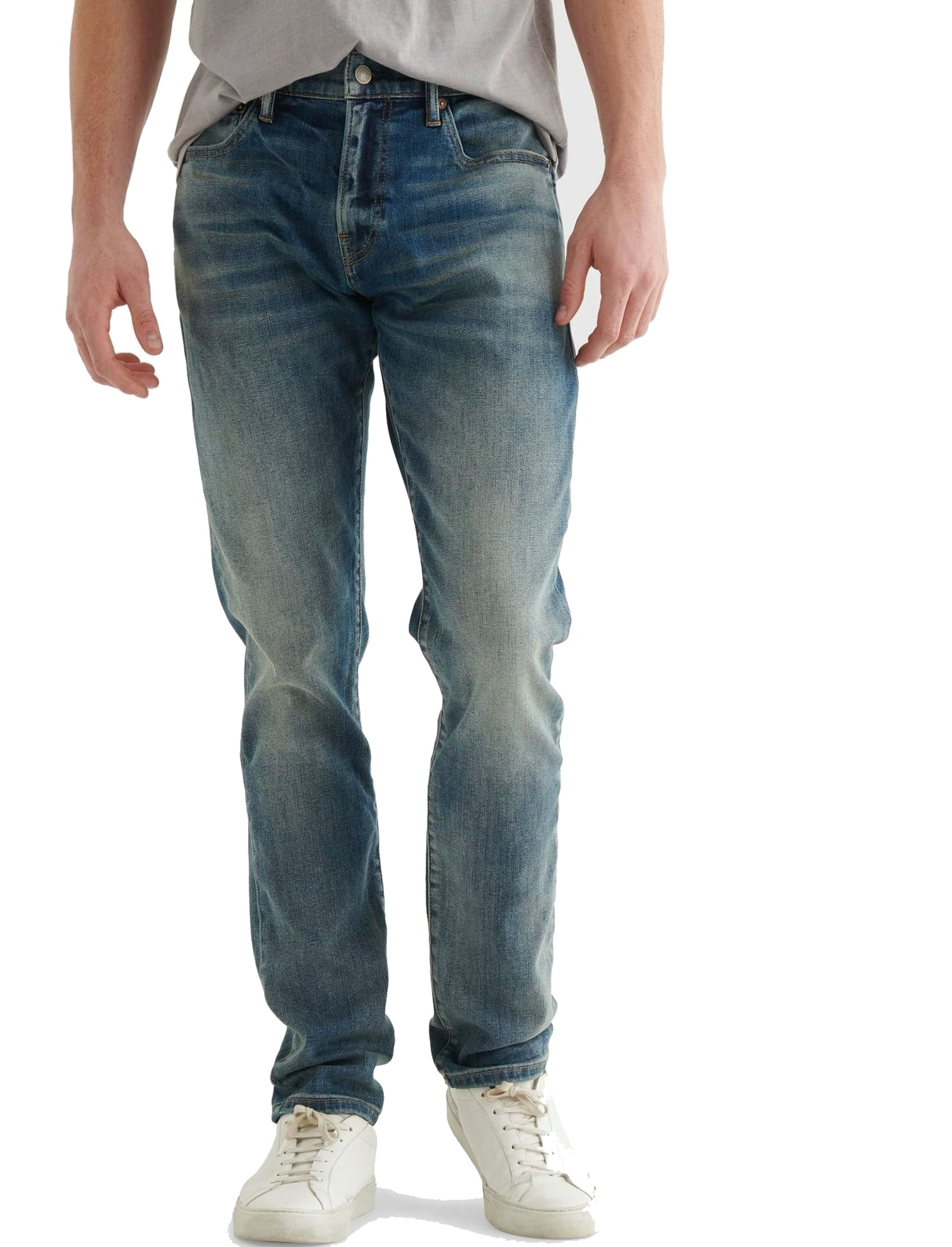 Lucky Brand: Men's Jeans (110 Slim or 223 Straight 4-Way Stretch) $40 + 40% Off Select Shorts & Tees + Free S/H