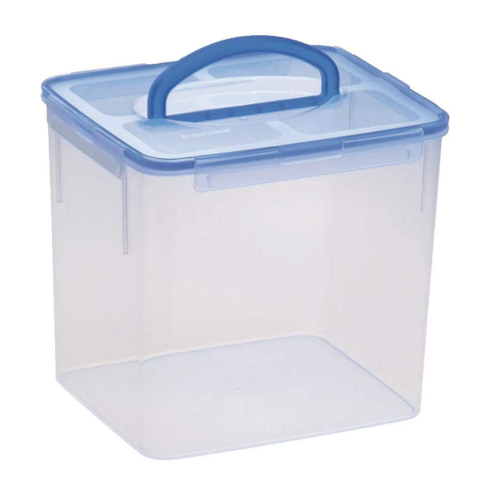 Snapware 40-Cup Airtight Plastic Storage Container w/ Blue Handle $12.23 at Home Depot + Free Curbside Pickup
