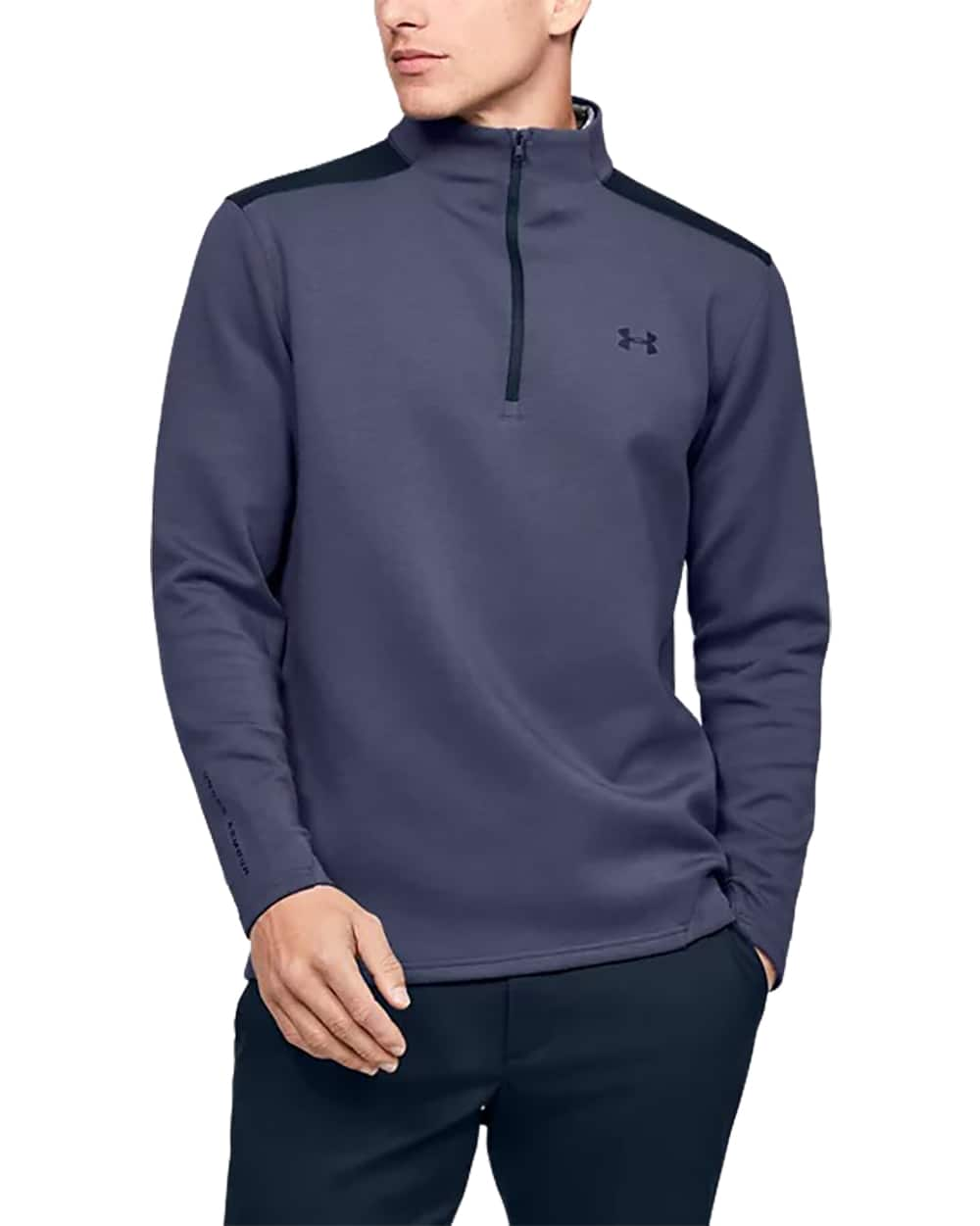 Under Armour Men's UA Storm Playoff ½ Zip (Blue Ink / Academy) $35 or Less + FS