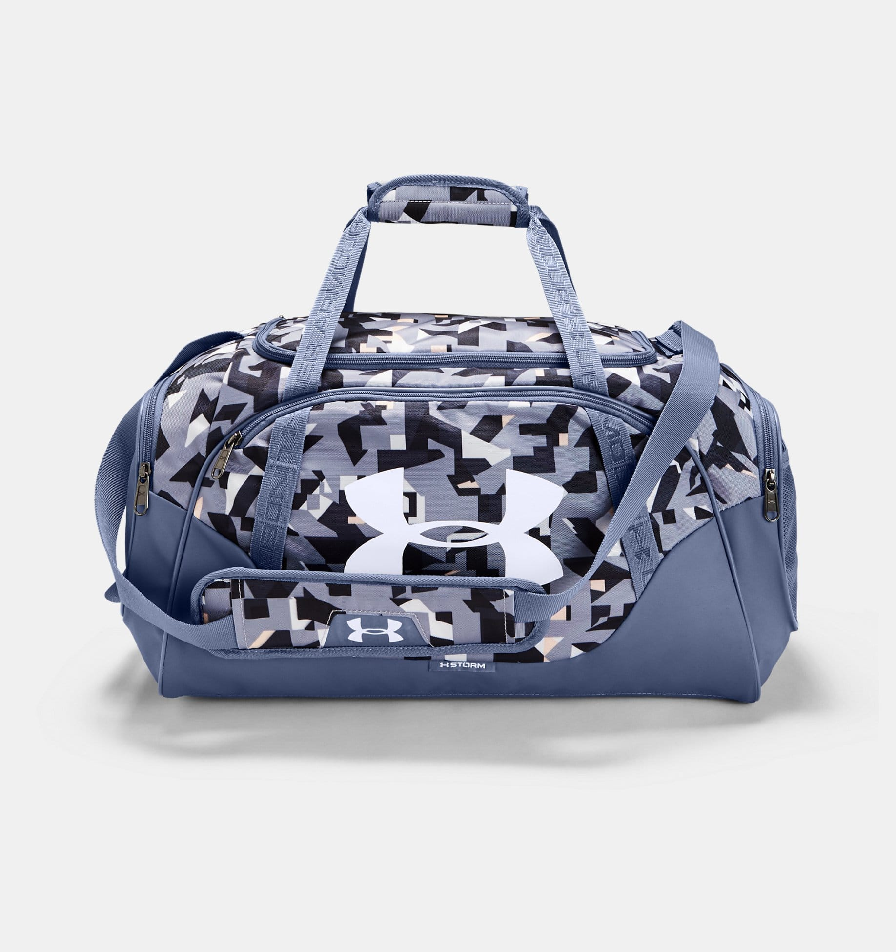 Under Armour UA Undeniable 3.0 Small Duffle Bag (Purple Dusk / Blue Ink) $23.99 or $14.40 for Military, First Responders + FS