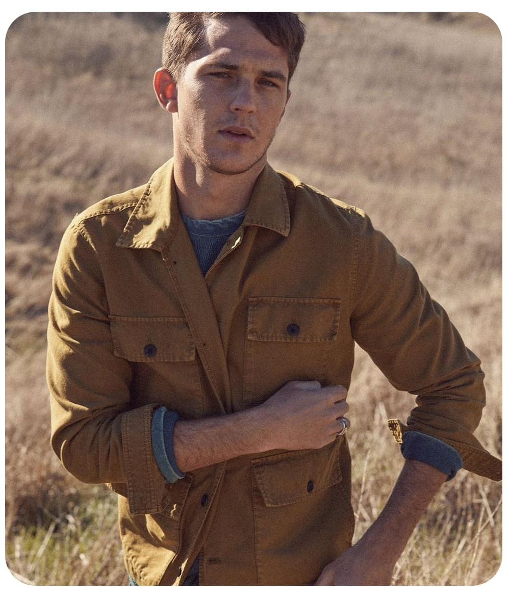 Lucky Brand: Men's Workwear Jacket $30 + FS