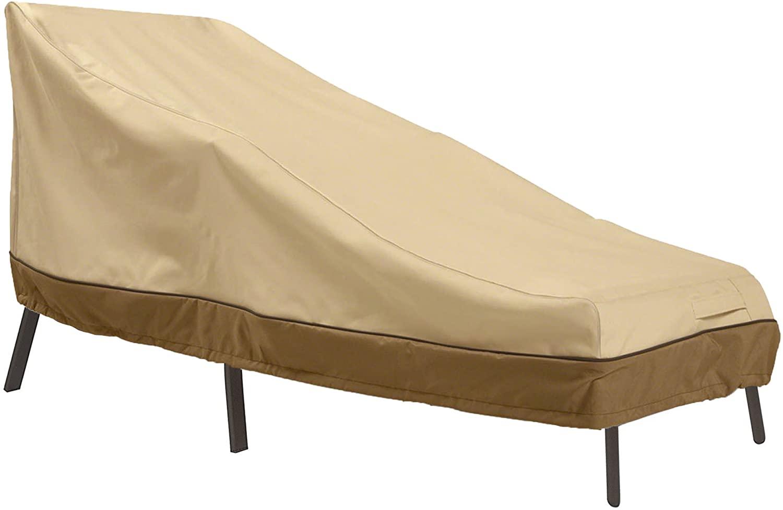 "Classic Accessories Veranda Water-Resistant Covers: 66 x 28"" Chaise Lounge $15.34 + FS w/ Prime"