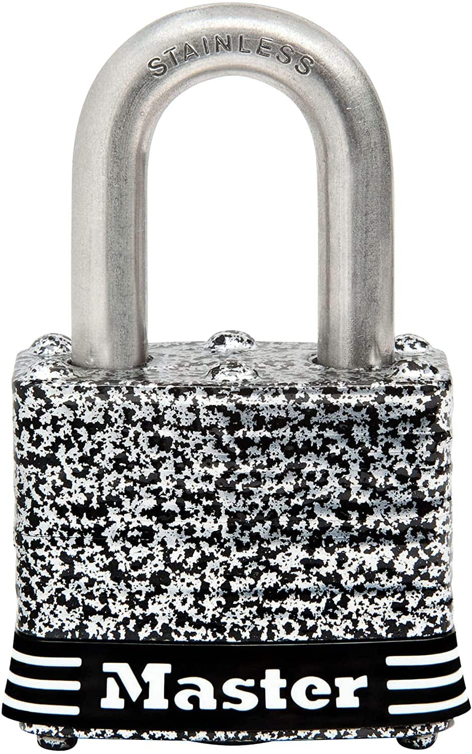 Master Lock Stainless Steel Padlocks w/ Tough Weather Coated Finish: 1-9/16 in. W from $5.50 & More + FS