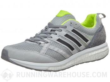 Men's Adidas adizero Tempo 9 Grey/Black/Yellow $59.91