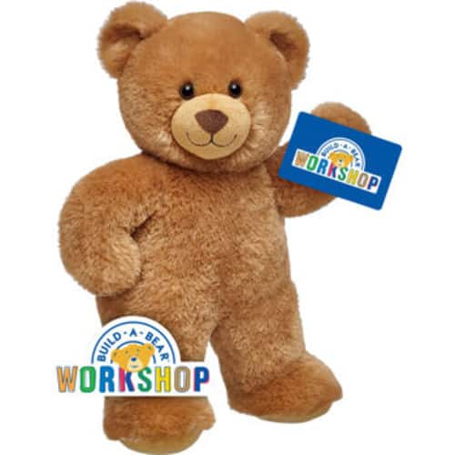 Build-A-Bear Workshop Four (4) x $25 eGift Cards for $69.99 at Costco