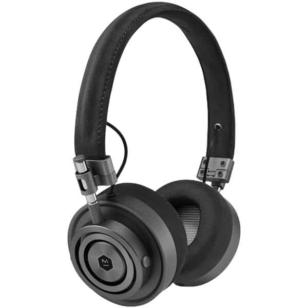 Master and Dynamic MH30 On Ear Headphones - Gunmetal/Black Alcantara®: $129.98 at Best Buy