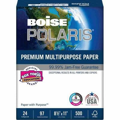 Office Depot/OfficeMax: Pay $8 Get $6 OD Gift Card for 1 Ream Boise POLARIS® 24lb Premium Multipurpose Paper, limit 3