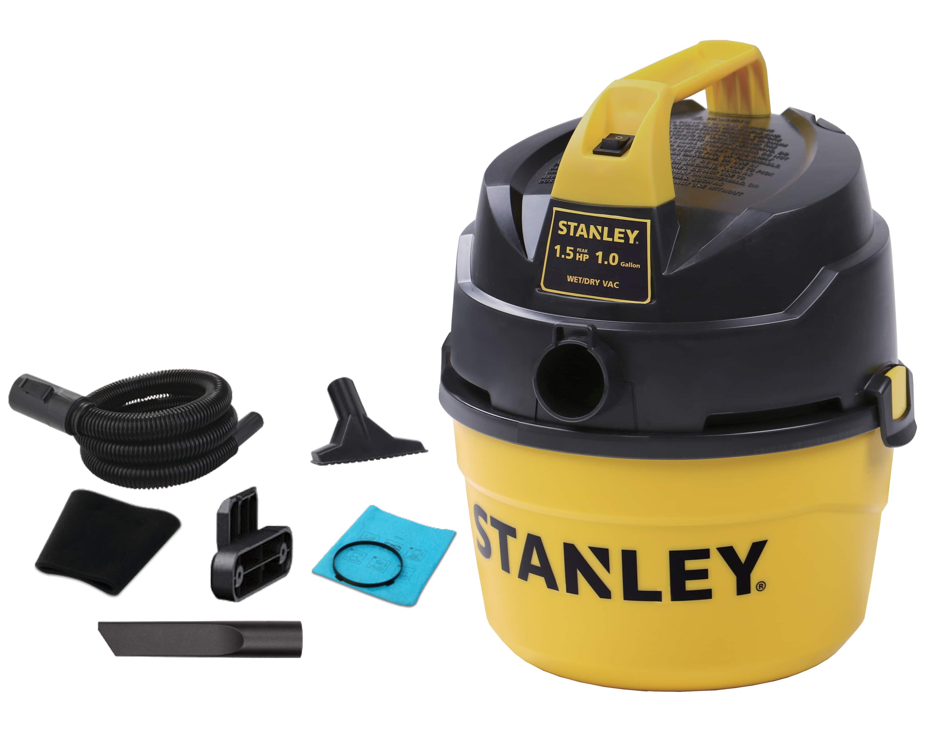 Walmart: YMMV - Stanley Wet/Dry Vacuum, 1 Gallon, 1.5 Horsepower: $5 in-store only (clearance)