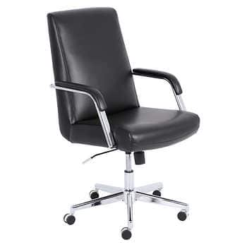 Costco: True Innovations Mid Back Top Grain Leather Manageru0027s Chair $84.99  After $75 OFF + Free Ship (Online And In Club)