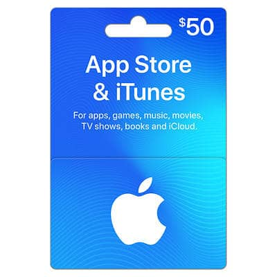 Sam's Club: $50 App Store & iTunes Gift Card for $42 98 + Free