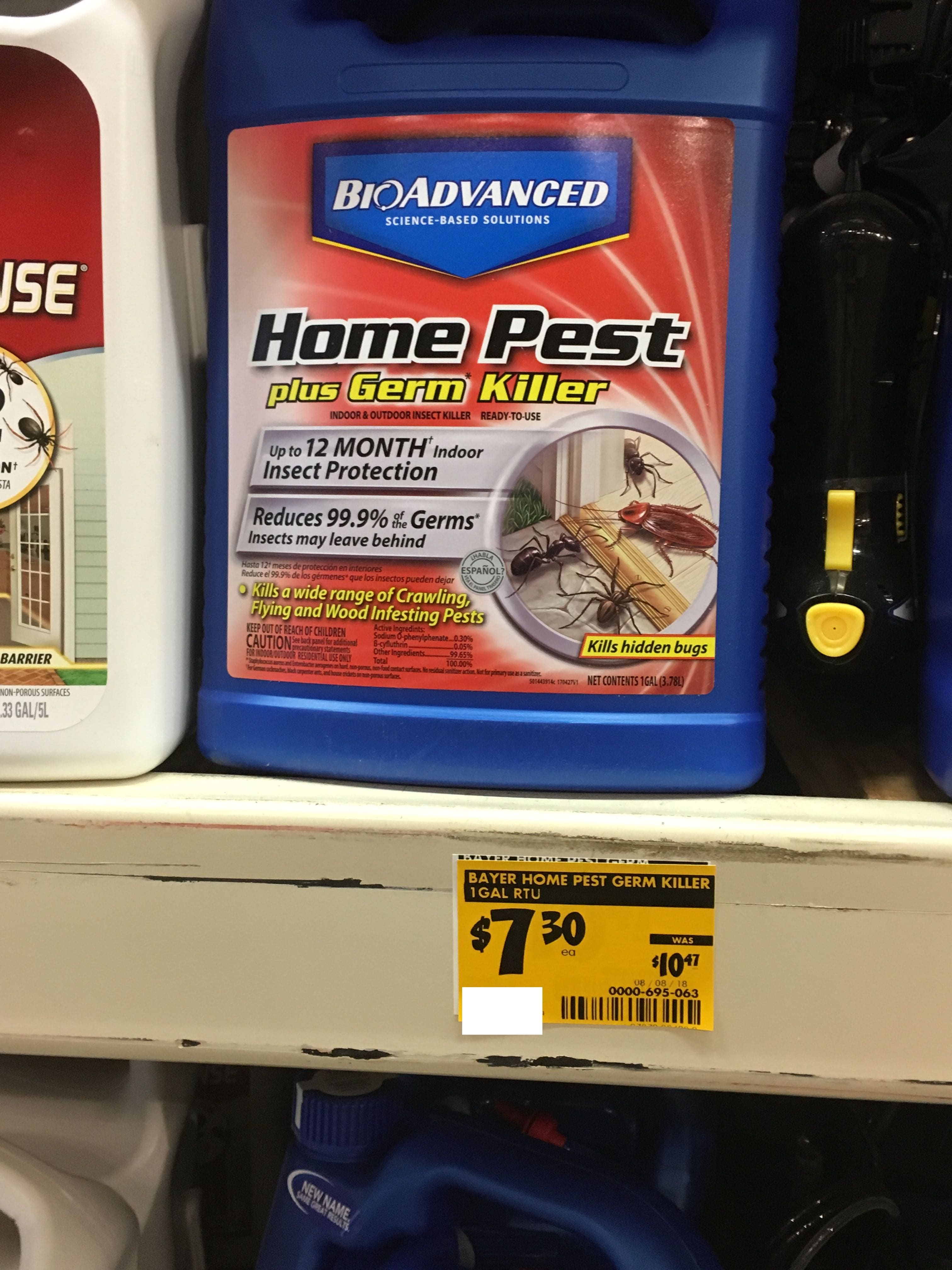 Home Depot Clearance Ymmv Bayer Advanced Pest Plus Germ Indoor And Outdoor Insect