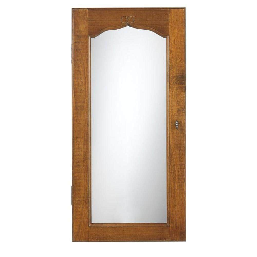 Home Depot Provence Wall Mount Jewelry Armoire W Mirror And More Mirrors Up