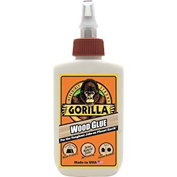 Gorilla 4 oz Wood Glue, 1-Pack, Original at Amazon: $2.78