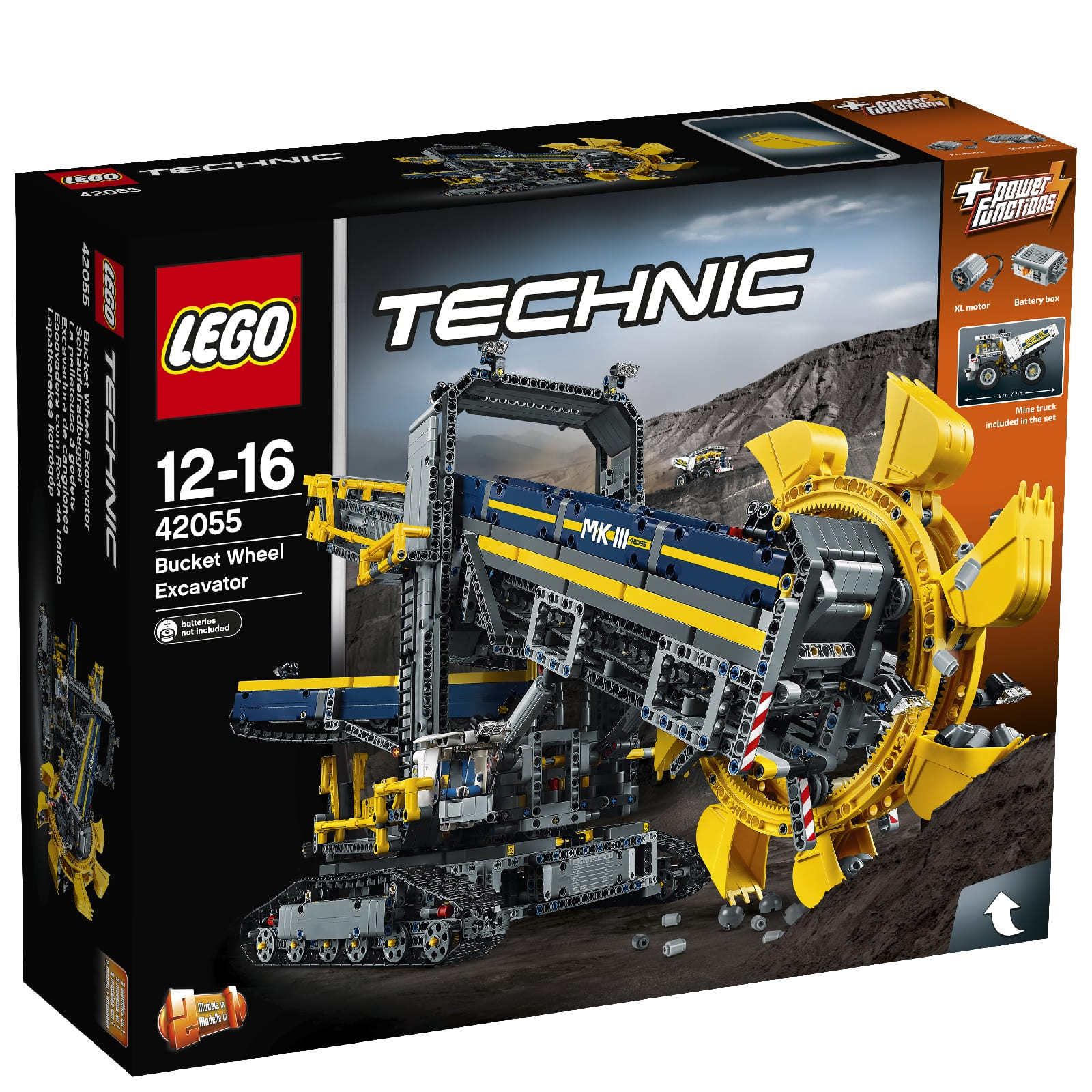 LEGO TECHNIC: Bucket Wheel Excavator (42055) at IWOOT $174.99 w/ Free Shipping