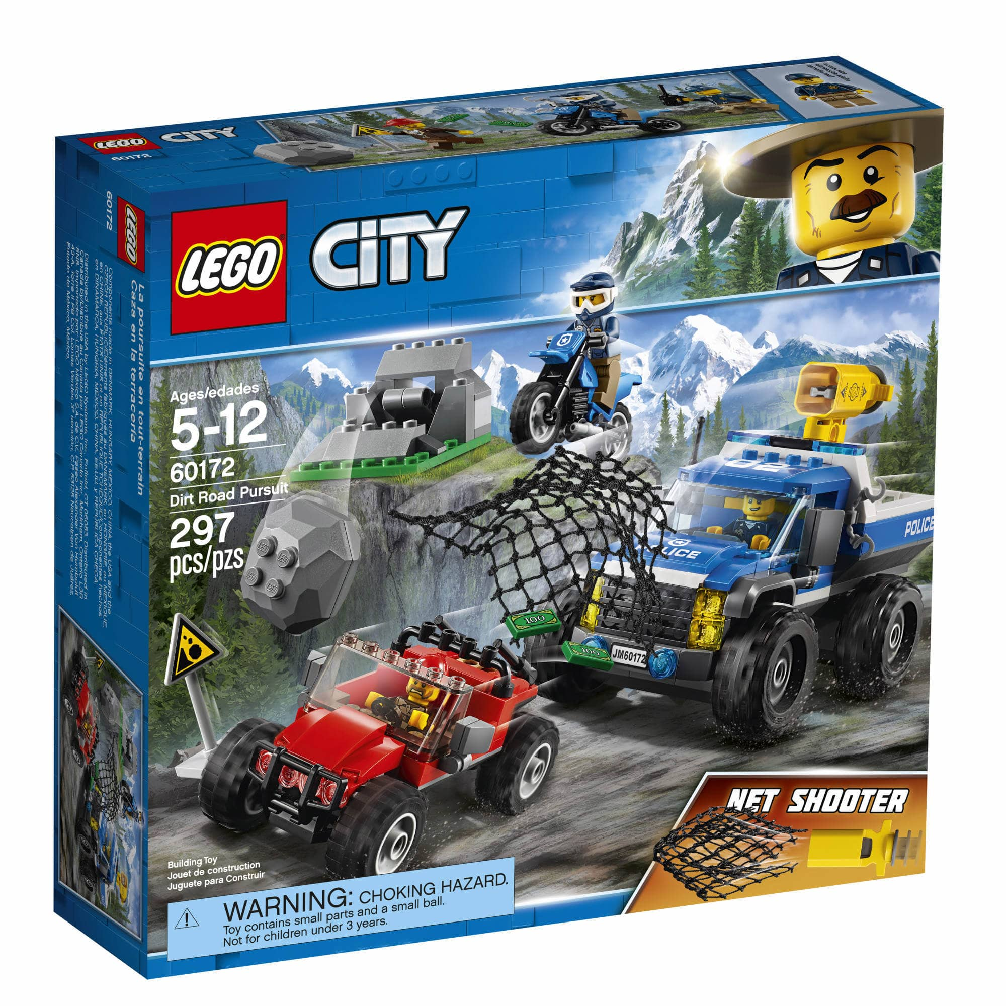 BJ's Members: LEGO City Dirt Road Pursuit, 297 Pcs (60172) $27.99 And More