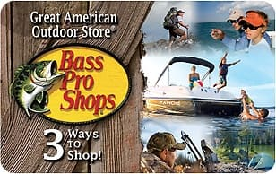 $75 Bass Pro Shops Gift Card (Email Delivery) for $60 at kroger.com