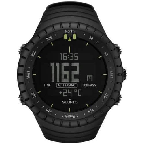 Suunto Core All Black Military Outdoor Sports Unisex Watch (SS014279010) at eBay $116.99 AC w/ Free Shipping