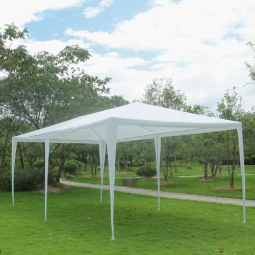 10' x 30' Outdoor Canopy Tent w/ 8 Side Walls, White at eBay $74.99 w/ Free Shipping