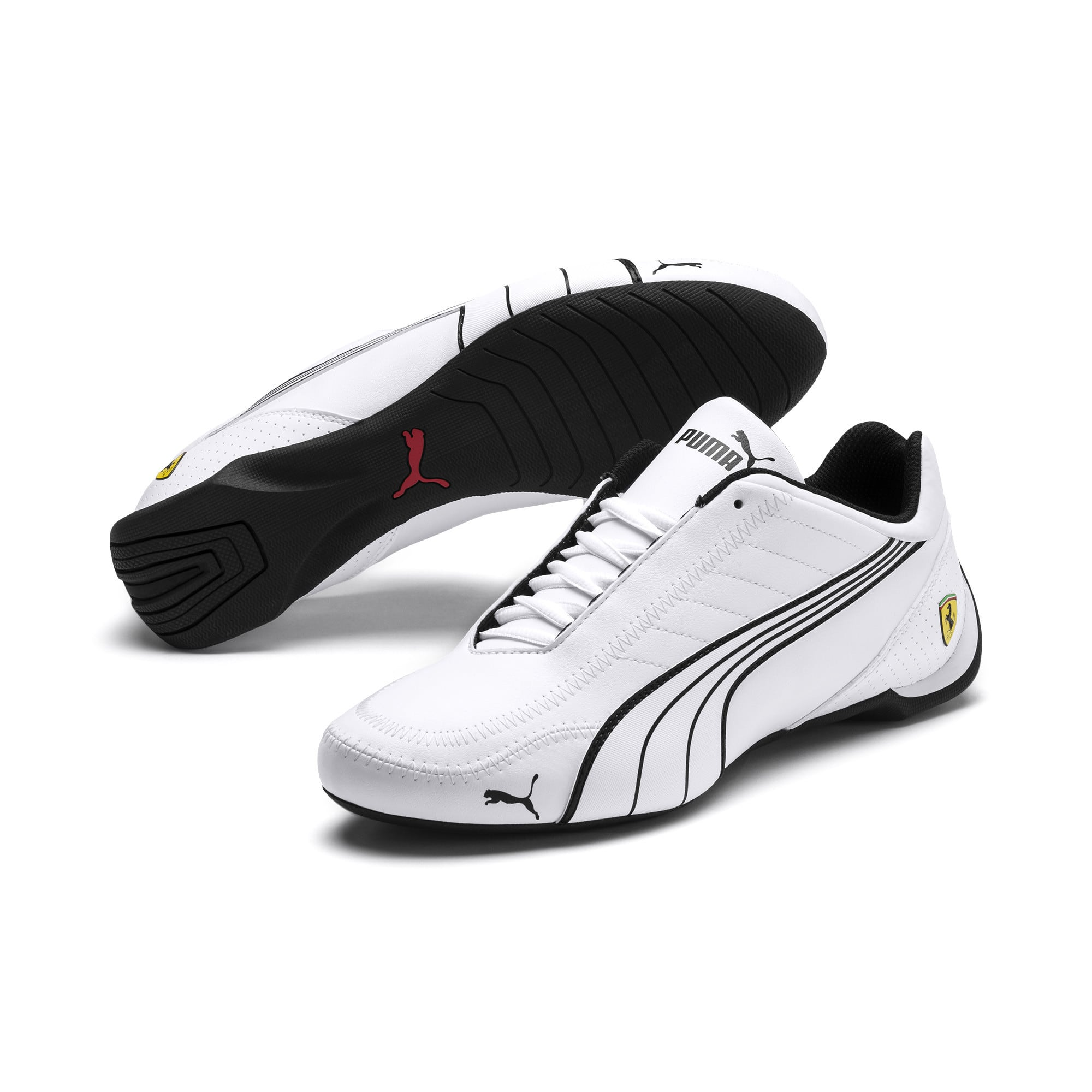 999432f67f1 PUMA Men's Ferrari Future Kart Cat Motorsport Shoes (White ...