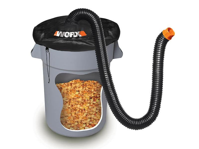 ** Back in Stock ** WORX LeafPro Universal Leaf Collection System w/ 8' Hose & Adapter, Refurb $13.58   26 Gal Collapsible Yard Waste Bin $18.25 w/ Free Shipping