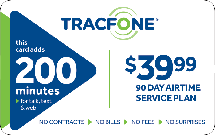 20% OFF TracFone Prepaid Phone Cards (Email Delivery), $35 to $125 Denominations at Kroger.com
