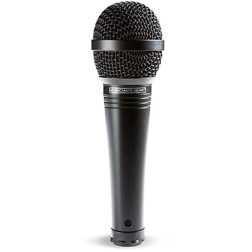 Musician's Gear MV-1000 Handheld Dynamic Vocal Microphone, Black at Guitar Center $15 w/ Free In-Store Pickup **Valid 1/18/19 only**