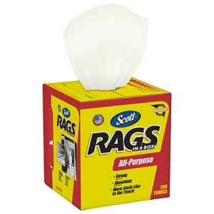 Ace Rewards Members: 200-Count Scott Rags In A Box $8 w/ Free In-Store Pickup And More