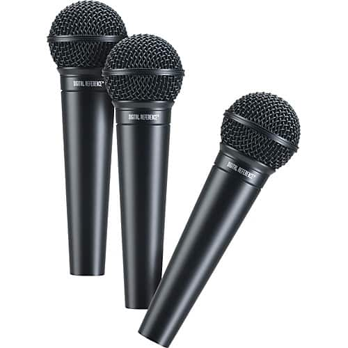 3-Pack Digital Reference DRV100 Microphone $37.49 AC + Free S/H