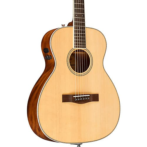 Fender PM-TE Standard Travel Acoustic-Electric Guitar, Natural at MF $349.99 + Free S/H