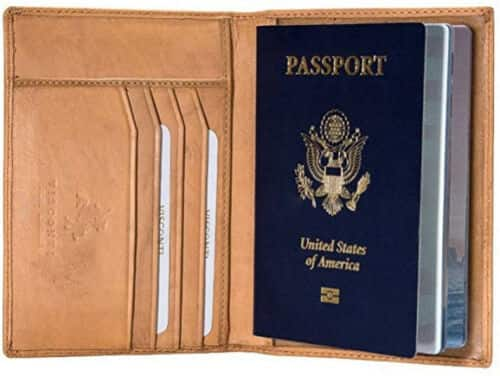 Visconti Soft Leather RFID Blocking Passport Wallet (Various Colors) $15 + Free Shipping