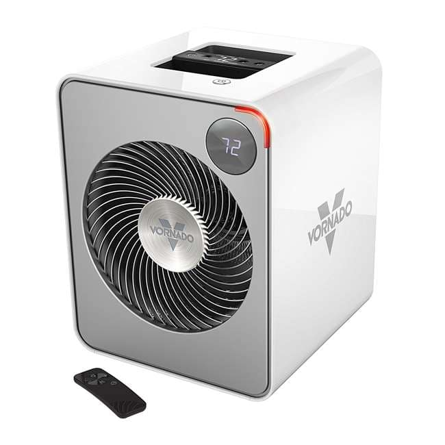Vornado Whole Room Metal Space Heater w/ Auto-Climate Control, White (VMH500) $72 AC + Free Shipping