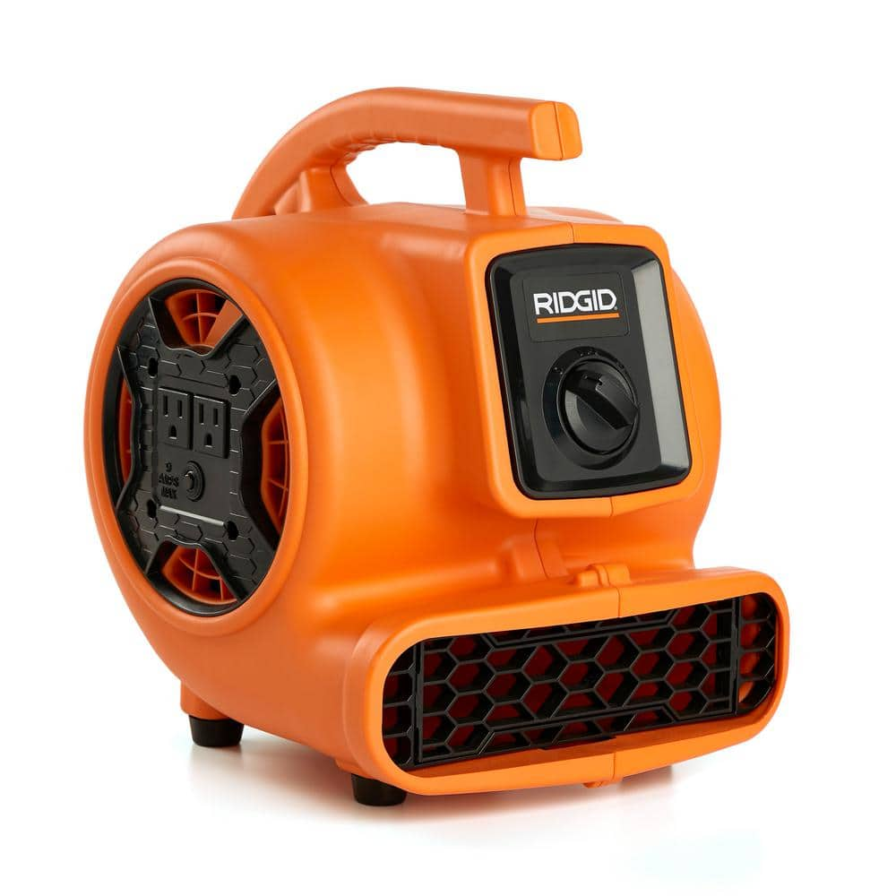 RIDGID 600 CFM Blower Fan Air Mover at Home Depot $79.97 + Free Shipping