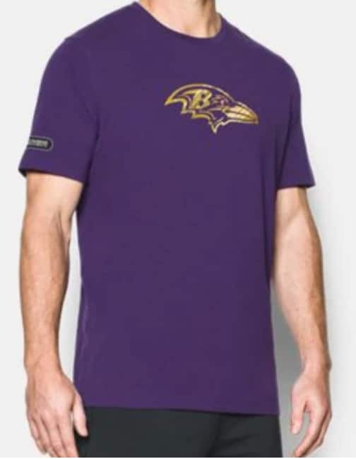 Under Armour  Select NFL Apparel 50% Off  Men s Authentic Tees ... 84a41b1eb