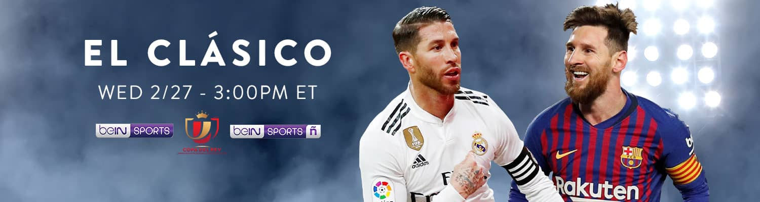 Slingtv El Clasico World Sports Channel Package