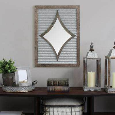 """Stratton Home Decor Wall Mirrors: 18"""" x 24"""" Joanna $17.74 AC, Lauren $32.86 AC + Free Store Pickup And More at Home Depot"""