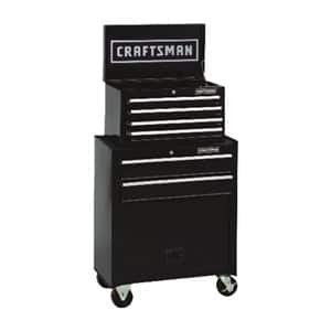 "Craftsman 26.5"" 6 drawer Steel Rolling Tool Cabinet, 44.25"" H x 14"" D  at Ace Hardware $99.99 + Free Delivery (select stores)"