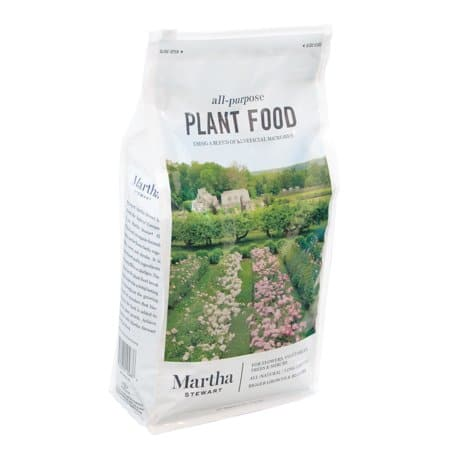 8 lbs. Martha Stewart Living All Purpose Plant Food for Flowers, Shrubs and Vegetables $8.99 + Free Store Pickup at Home Depot/Walmart