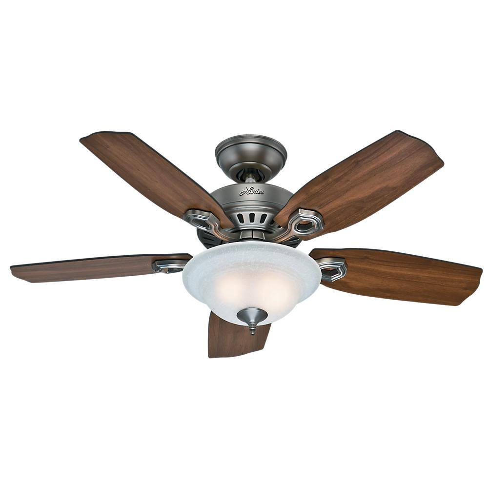 """Hunter Indoor Ceiling Fans: 44"""" Cedarville w/ Light Kit $89, 48"""" Discovery w/ Light Kit $100, 52"""" Cavera Wi-fi Enabled w/ Light Kit & Remote $179 + Free S/H"""