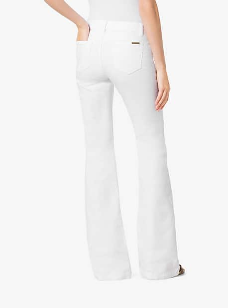 Michael Kors: Women's Flared Jeans $27, Shorts and Skirts from $35.20; Men's Greenwich Polo Shirt $29 + FS and More