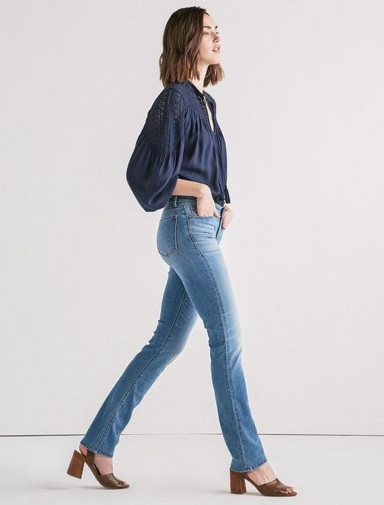 Lucky Brand: Select Women's Jeans - Ava Mid Rise, Lil Maggie Low Rise Flare from $20 w/ FS on orders $50+
