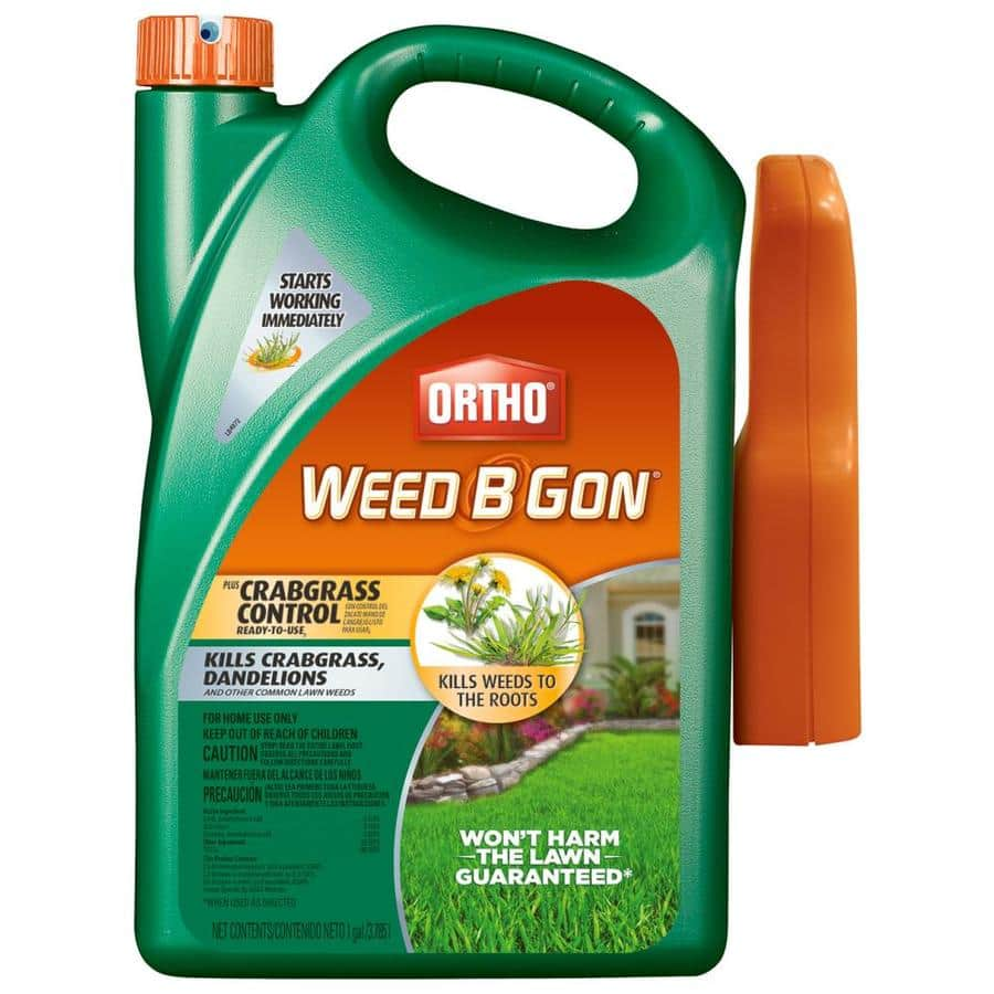 Crabgrass Control: 1-Gal ORTHO Weed B Gon $3.24, 1.3-Gal Spectracide Weed Stop for Lawn from $3.24 + Free Store Pickup at Select Lowe's *YMMV