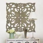 """Wall Art Sculptures at Home Depot: Fetco - Carved Wooden Medallion (Various) $21.59 