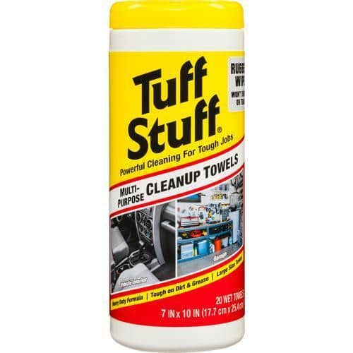 20-Count Tuff Stuff Multipurpose Wet Towels at Pep Boys $1.65 w/ Free Store Pickup