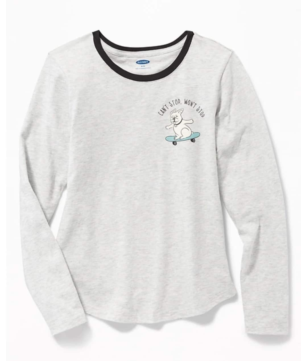 13abc1bcb Old Navy: Girls' Tees $3.13, Toddler Boys' Henley $3.50, Men's Graphic Tees  $5, more + FS on orders of $50+