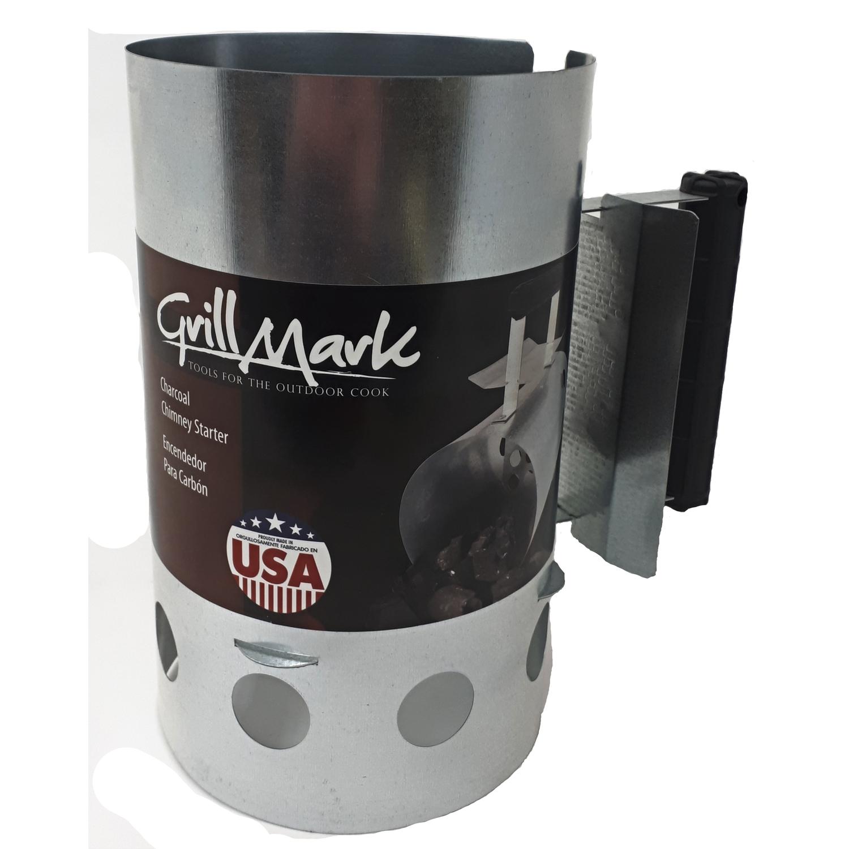 64 oz. Grill Mark Charcoal Starter w/ 0.075 cu. ft Stump Chunks Wood Fiber Fire Starter at Ace Hardware $9.99 + Free Store Pickup