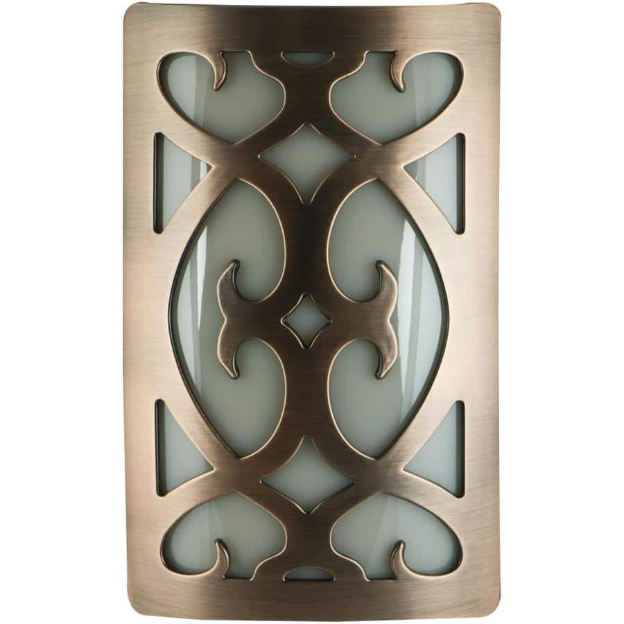 allen + roth Oil Rubbed Bronze LED Night Light w/ Auto On/Off $1.50 + Free Store Pickup at SELECT Lowe's *YMMV