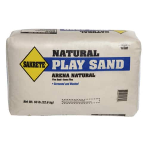 50-lb Sakrete Play Sand Sand or Quikrete Play Sand at Lowe's $2.50 each + Free Store Pickup