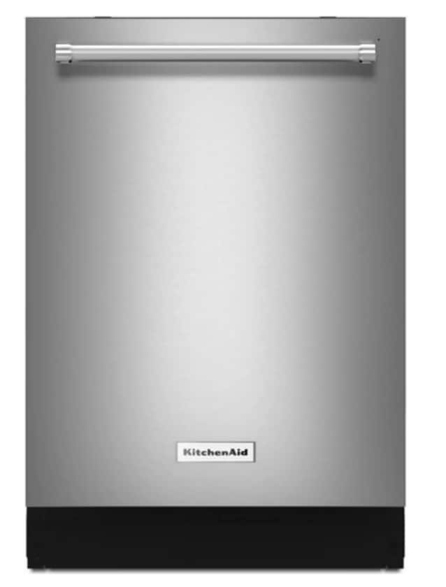 "24"" KitchenAid 39-Decibel Built-In Dishwasher, Print Shield Stainless (KDTE334GPS) $720.58 + Free Shipping"