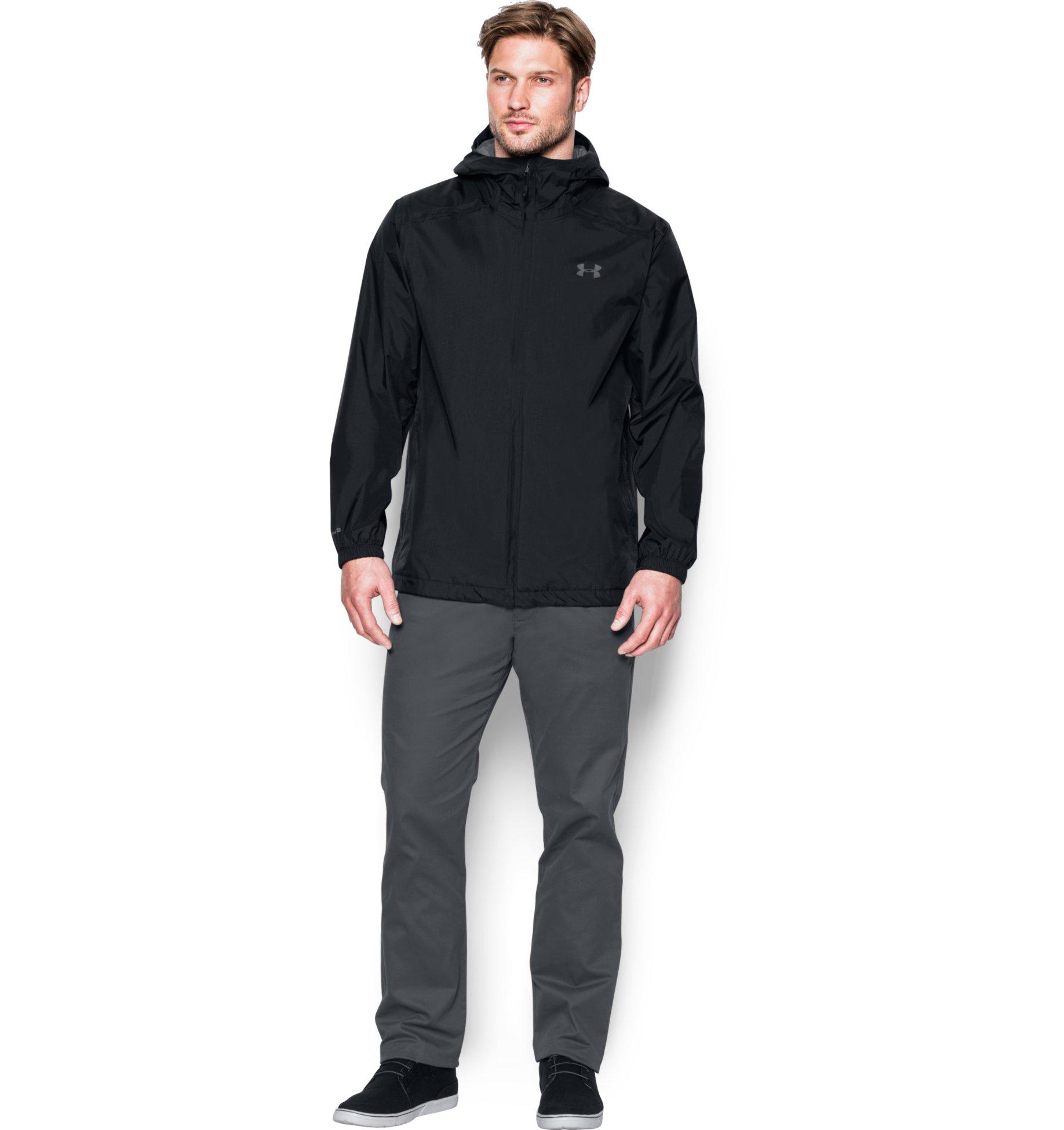 Under Armour Men's UA Storm Bora Jacket (Black/Graphite), S, XL: 2 for $75.59 ($37.79 each) + Free Shipping