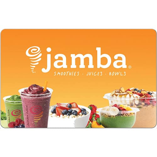 $25 Jamba Juice Gift Card (Email Delivery) for $20